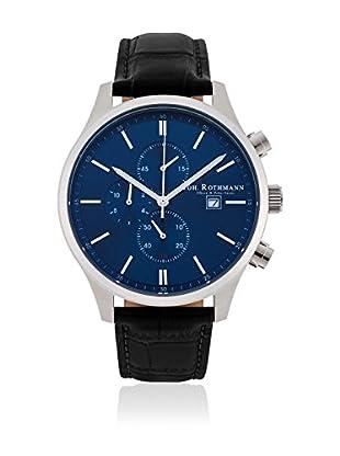 Joh. Rothmann Reloj con movimiento cuarzo japonés 10030030 Negro 42.5 mm