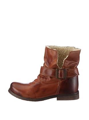 Buffalo London ES 1000 GARDA 121063 - Botas de cuero para mujer, color marrón, talla 41 (Marrón)