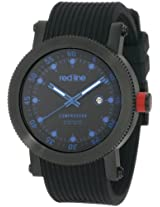red line Men's 18001-BB-01BL Compressor Collection Watch