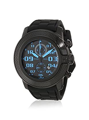 Glam Rock Men's GR33119 SoBe Chronograph Black Silicone Watch