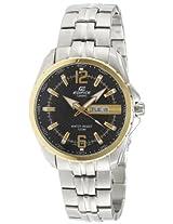 Casio Edifice Analog Black Dial Men's Watch - EF-131D-1A9VDF (ED445)