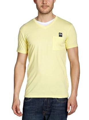 JACK & JONES Camiseta (Amarillo)