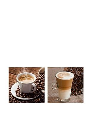 PlatinArt Set 2 Cuadros Coffee Special 20 x 20