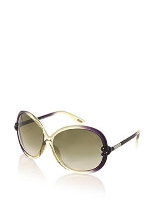 Tom Ford Women's Sonja Sunglasses (Light Olive Shaded)