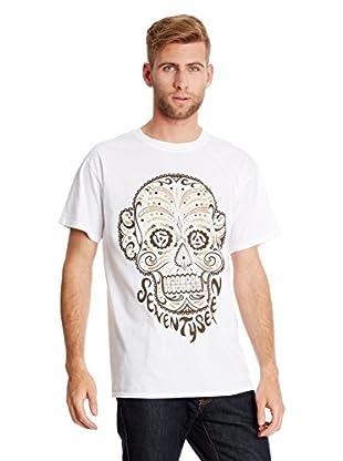 Seventy Seven T-Shirt Camo Candy Skull