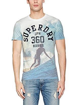 Superdry T-Shirt Manica Corta Hawaii 360 Lite Loomed