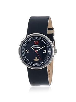 Vivienne Westwood Unisex VV020DBL Spirit Swiss Quartz Blue Leather Strap Watch