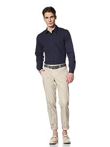 Brent Wilson The Basics Men's Tailored Slim Leg Pant (Taupe)