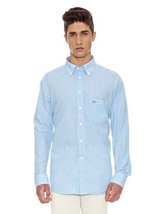 Carrera Jeans Camisa Print (Azul Claro / Gris)