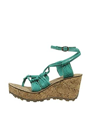 Fly London Sandalias Goes (Verde)