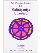 La Maitrayaniya Upanisad (Jornadas)