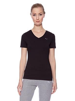 PUMA T-Shirt Essential V (Schwarz)
