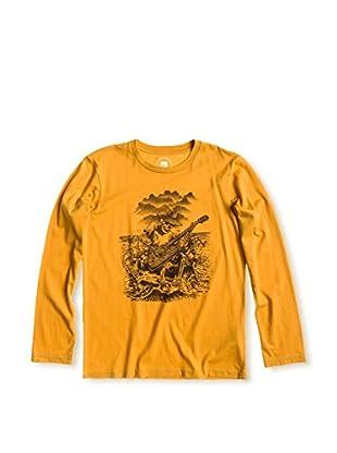 Quiksilver Camiseta Spiraea (Mostaza)