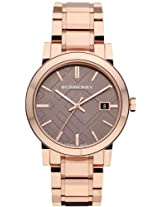 Burberry Rose Gold-Tone Mens Watch Bu9005