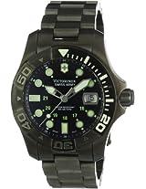 Victorinox Swiss Army Mens 241429 Dive Master 500 Black Ice Black Dial Watch