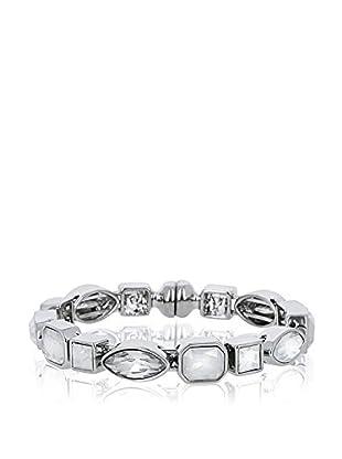 Rendez-Vous Armband Mandevilla silberfarben/weiß