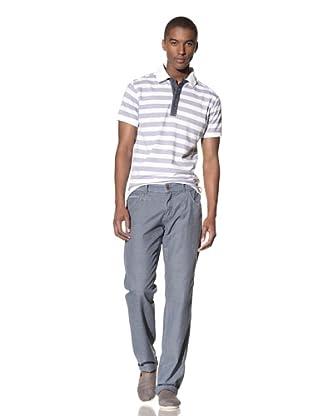 No Excess Men's Stripe Pant (Cloud)