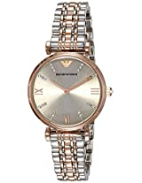 Emporio Armani Analog Silver Dial Women's Watch - AR1840