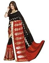 Bhavi Embellished Printed Kanchipuram Silk Saree