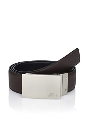 Lacoste Men's Reversible Belt (Black/brown)