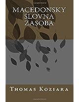 Macedonsky Slovna Zasoba