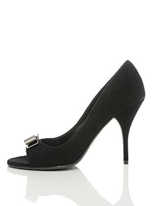 Furla Zapatos Peep-Toe Chantilly (Negro)