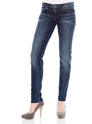Calvin Klein Jeans Vaquero 5 Bolsillos (Azul)