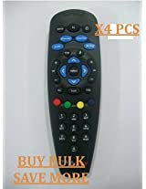 COMPATIBLE TATA SKY DTH TV SETTOP BOX REMOTE, GOOD QUALITY(4 PCS)