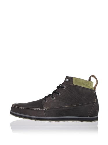 Tretorn Men's Walden Leather Boot (Black/Capers)
