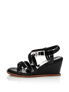 STEPHANE KELIAN Women's Cadix Wedge Sandal (Noir)