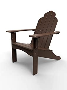 Malibu Outdoor Furniture Yarmouth Adirondack Chair (Dark Brown)
