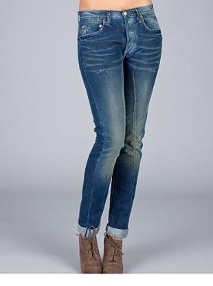 Levis Jeans 501 Customized Slim (Schwarz)