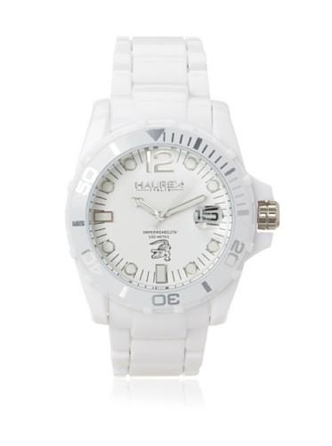 Haurex Italy Men's W7354UWW Caimano Date White Dial Plastic Sport Watch