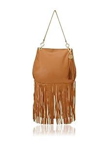 Stella & Jamie Women's Sue Studded Fringe Bag (Sahara)