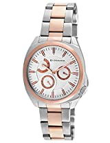 Giordano Chronograph White Dial Men's Watch - GX1578-33