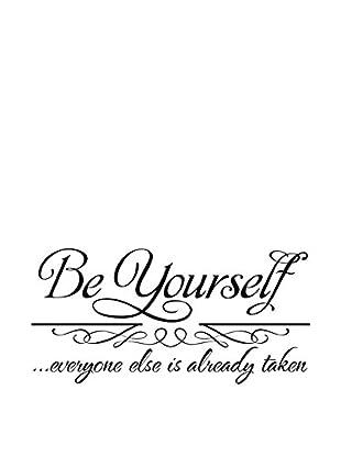 LO+DEMODA Wandtattoo Be Yourself