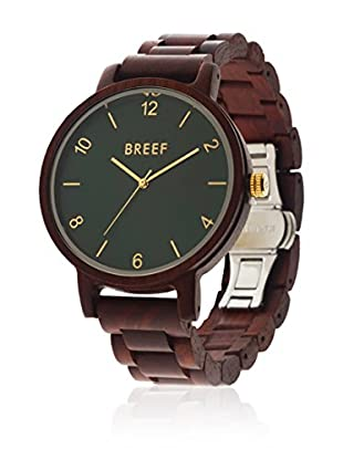 BREEF WATCHES Reloj con movimiento cuarzo japonés Unisex Unisex SANDLWOOD CLASSIC 45 mm