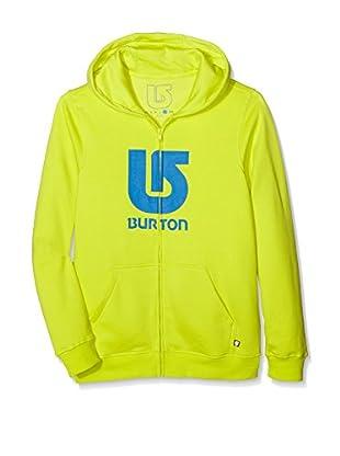 Burton Sudadera con Cierre Logo Vert Sheen