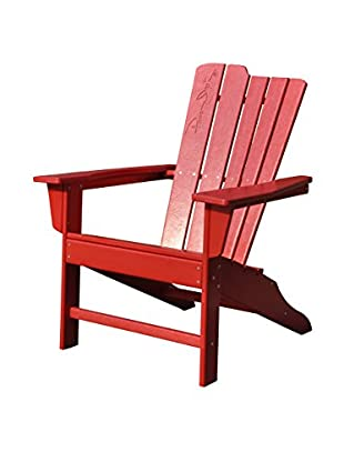 Panama Jack Adirondack Chair, Red