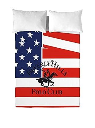 Beverly Hills Polo Club Betttuch und Kissenbezug Pacific