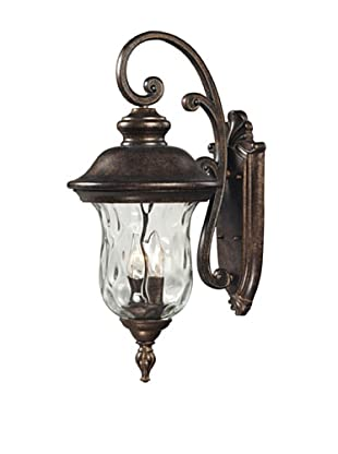 Artistic Lighting Lafayette Outdoor Wall Sconce, Regal Bronze