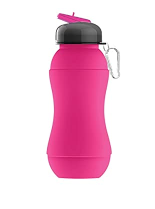 AdNArt Sili-Squeeze Collapsible Silicone Hydra Bottle (Pink)