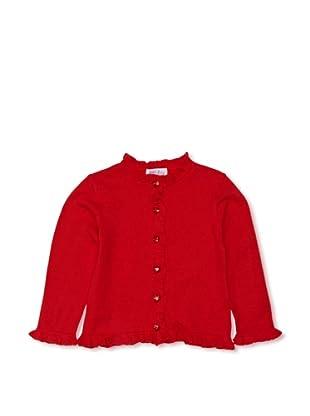 Rachel Riley Chaqueta Sparkle Button (Rojo)