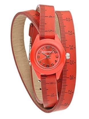Il mezzometro Uhr mit Miyota Uhrwerk Classic Time rot 32 mm
