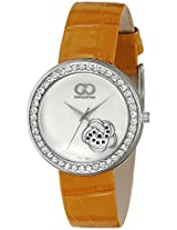 Gio Collection Analog White Dial Women's Watch - G0065-01