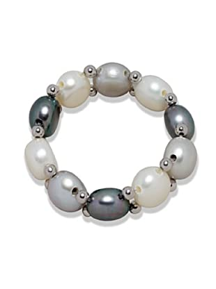 Nova Pearls Copenhagen Anillo de Perla De Agua Dulce 6 - 6,5 mm