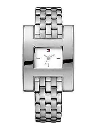 Tommy Hilfiger 1781086 - Reloj de Señora movimiento automático, brazalete metálico color plateado