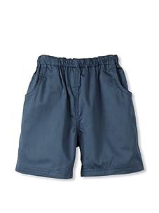 Rachel Riley Boy's Pull-On Shorts (Petrol Blue)