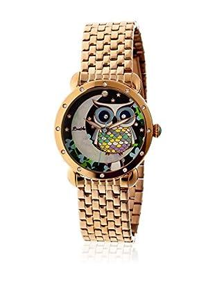 Bertha Uhr mit Japanischem Quarzuhrwerk Ashley goldfarben 41 mm