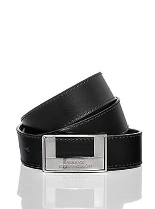 Versace Collection Cinturón Lutharo (Negro)